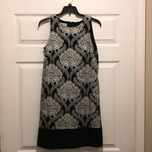 Women's Maggy London dress in black and white